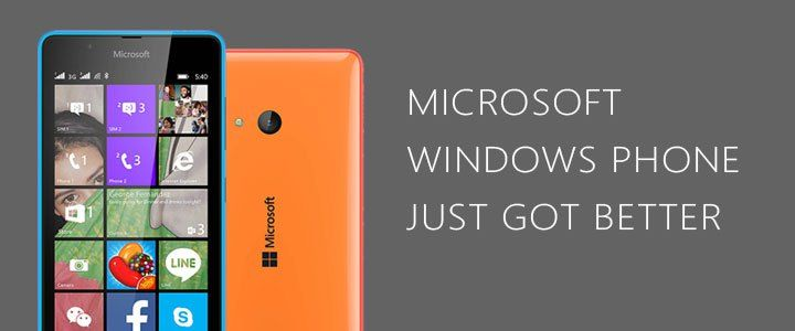 Windows Phone has become a better choice now.