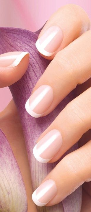 French manicures look classy any time of the year. Nail Design, Nail Art, Nail Salon, Irvine, Newport Beach