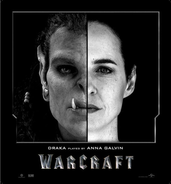 These fantastic photos show the real Warcraft actors side by side with their CGI characters.  [Source: Imgur | Via GG]