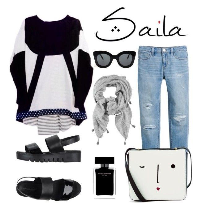"""Saila"" by lemizzle on Polyvore featuring Jeffrey Campbell, White House Black Market, Lulu Guinness, Narciso Rodriguez and CÉLINE"