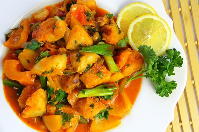 17 best images about food trinidad caribbean on for Cod fish stew