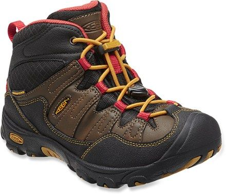 Cascade Brown/Tawny Olive Kids Hiking Boots