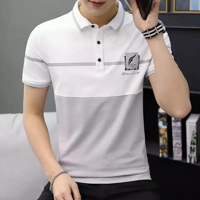 Tienda Online Camiseta Polo De Manga Corta De Verano 2019 Para Hombre Camisa De Manga Corta Para Homb In 2020 Polo Shirt Design Polo Shirt Outfits Sports Fashion Men