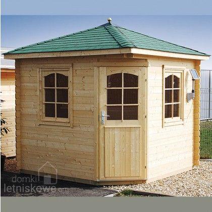 Drewniany domek pięciokątny (Garden pavilion) Victoria A 5,6 m2