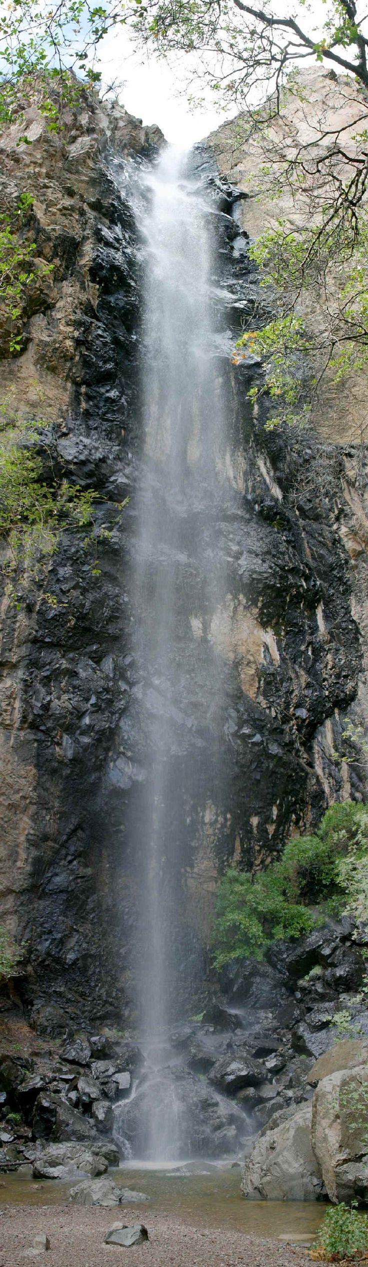 Pine Canyon Falls in Big Bend NP, Texas. http://en.wikipedia.org/wiki/File:Pine_Canyon_Falls_Pan.jpg