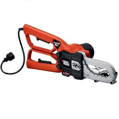 Product review for Black & Decker LP1000 Alligator Lopper 4.5-Amp Electric Chain Saw. The Black & Decker LP1000 Alligator Lopper 4.5-Amp Electric Chain Saw is an ideal tool for pruning tree branches up to four inches in diameter, cutting branches into manageable pieces, and cutting fallen branches after storms. Its 4.5-Amp motor provides powerful, fast cutting and its...