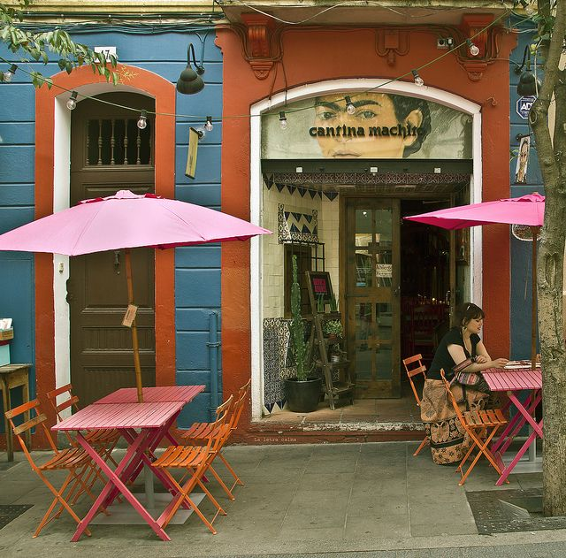 One of my favorite neighborhoods in Barcelona! Lots of artists and collectives doing their thing and they gladly welcome you in. Have a drink at the Obama Bar patio while you're there. El barrio de Gracia | Barcelona
