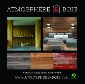 ATMOSPHÈRE & BOIS – Exposants – MAISON&OBJET PARIS