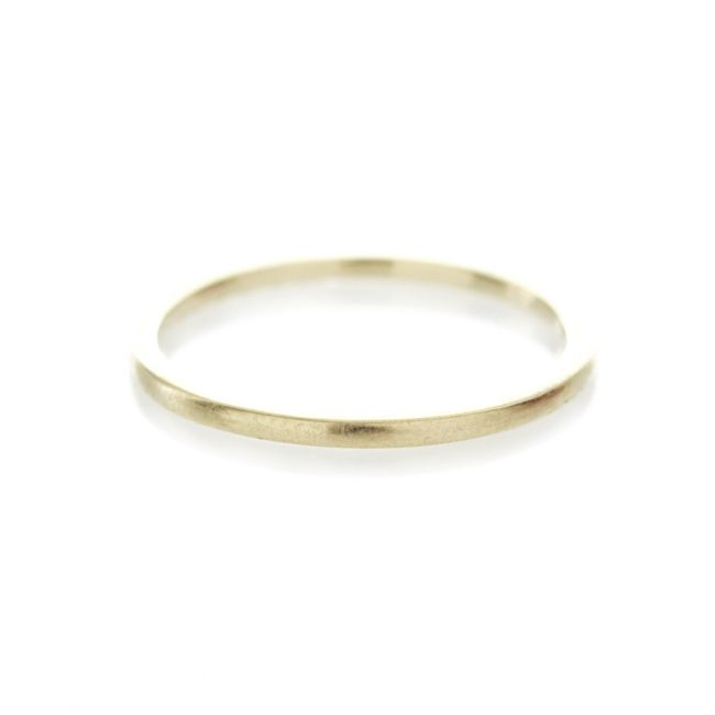 Dear Rae Jewellery | A simple 1,5mm gold band. Available in 9ct yellow, rose or white gold. #dearraejewellery #dearrae