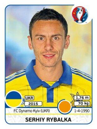 Serhiy Rybalka - EURO 2016