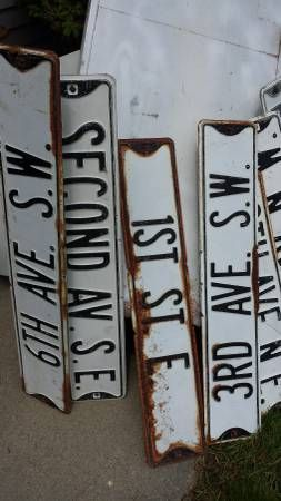 street signs for sale in Preston, MN