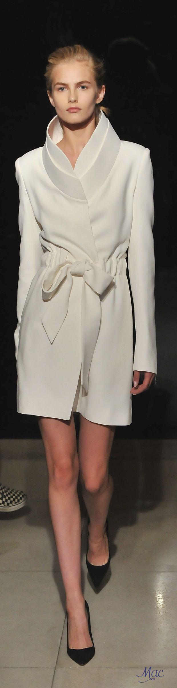 Spring 2016 Ready-to-Wear Brandon Maxwell Требуются эротические модели для…