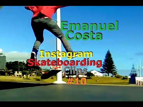 Emanuel Costa - Instagram Skateboarding Clips 10