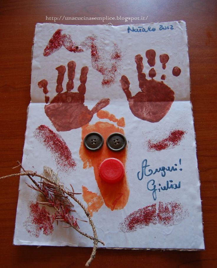 Tante piccole idee realizzate: La renna di Babbo Natale
