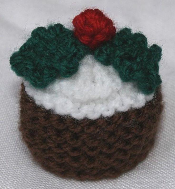 Christmas Pudding Ferrero Rocher Cosies Knitting pattern by Tess Young | Christmas knitting ...
