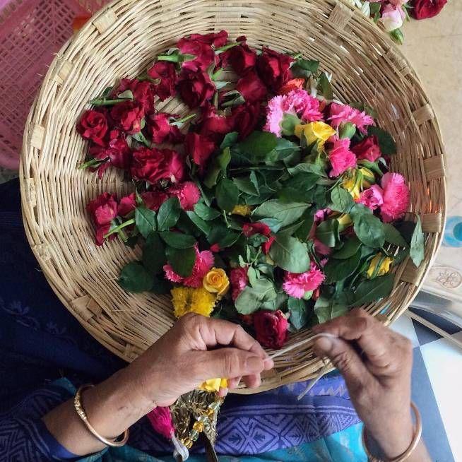 """A basket full of color in the heart of Mumbai."" -- @cucinadigitale #LivingGrand"