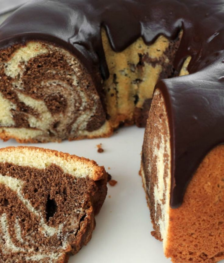 This yummy marble cake recipe is a bite of sweet 1960s nostalgia! Make a rich, buttery and moist cake completely from scratch.