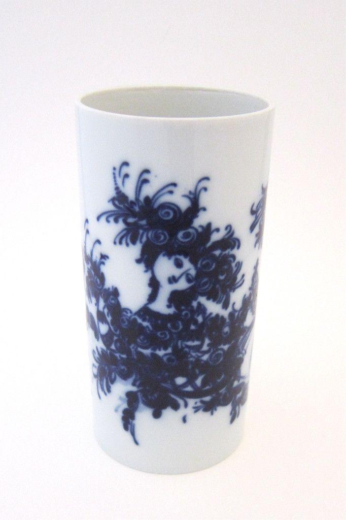 Bjorn Wiinblad for Rosenthal flow blue vase