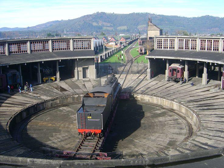 Casa de Máquinas Museo Ferroviario de Temuco