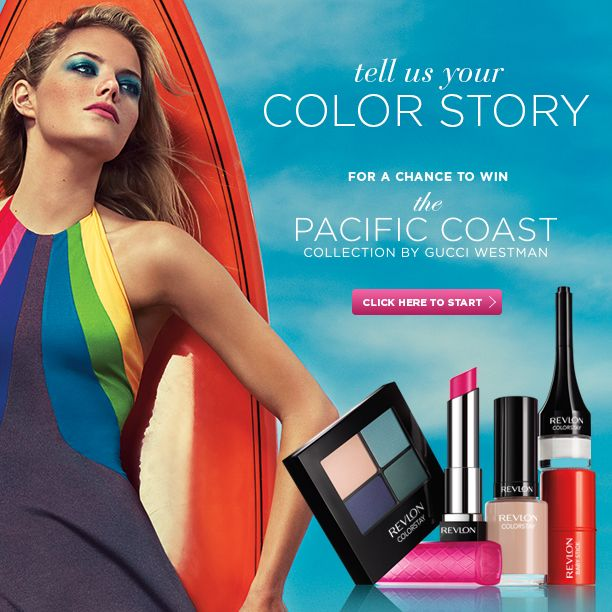 This Pinterest Contest celebrates the launch of the NEW Pacific Coast Collection by Gucci Westman. Click the image for details and to link to the entry form.