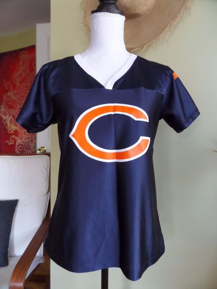 ab30ede4b ... NWOT Womens V-neck Blue Jersey NFL Chicago Bears Devin Hester 23 size M  Buy Hot Mens Nike New York Giants Robbie Gould Game White ...