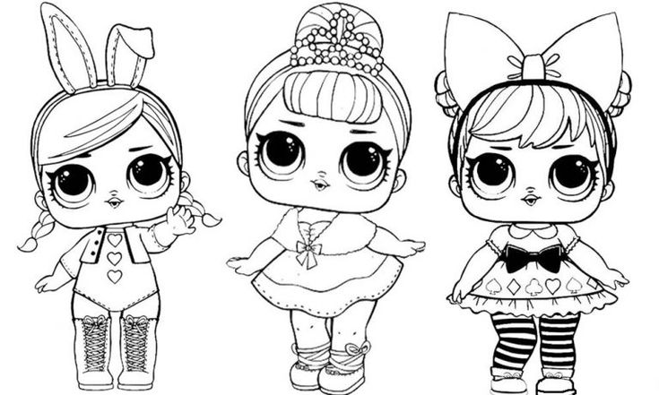 lol dolls coloring pages babies  101 worksheets