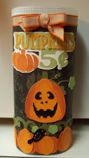 Crystal light container with Pumpkin Patch svg collection from svgattic.com
