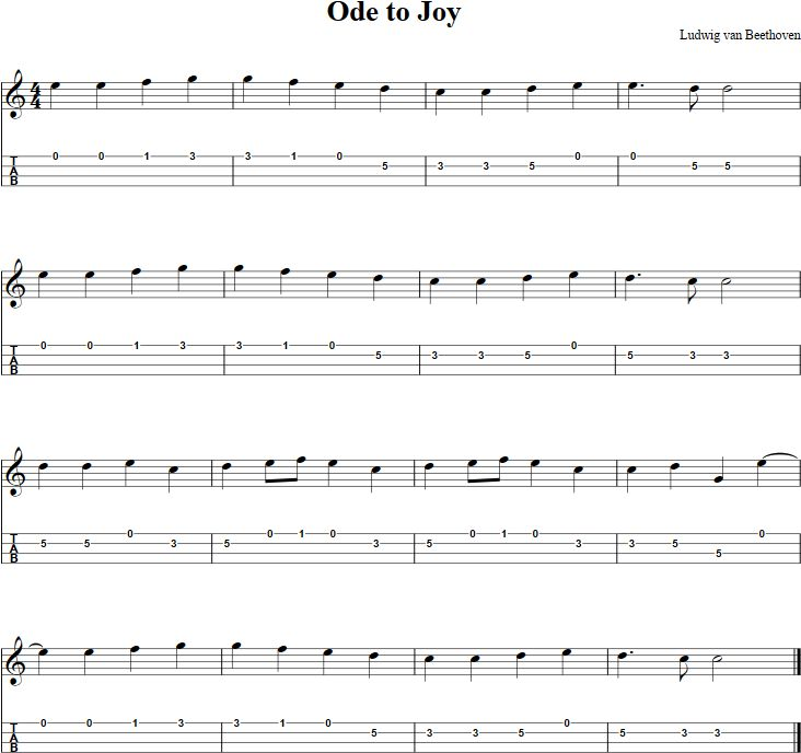 Besame Mucho Lyrics Sheet Music: Free Mandolin Sheet Music For Beginners