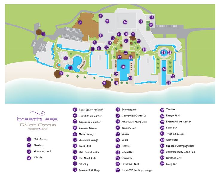 Image Result For Map Of All Inclusive Resorts In Riviera Maya Mexico