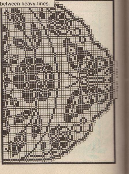 292 Best Filet Crochet Images On Pinterest Filet Crochet Knitting