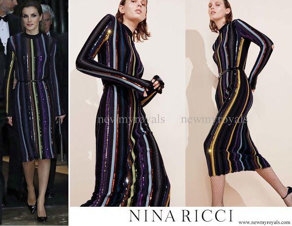 10 December 2016 - Letizia style: NINA RICCI (Resort 2017 Collection)