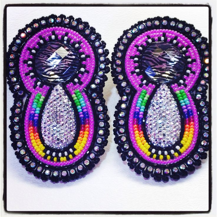 Beaded earring patterns native american