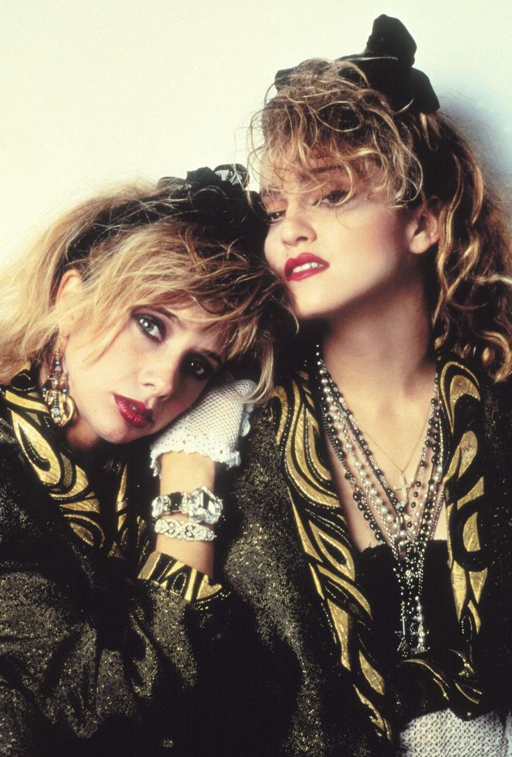 Madonna and Rosanne Arquette in Desperately Seeking Susan directed by Susan Seidelman, 1985