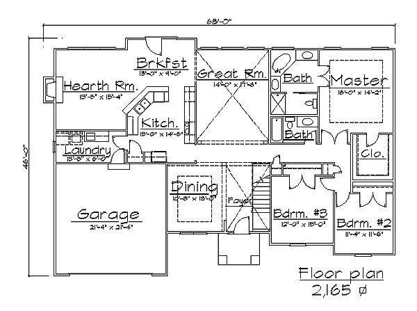 29 best house plans images on pinterest traditional house plans Floor Plans Hillside Home first floor plan of hillside traditional house plan 74901 hillside home floor plans