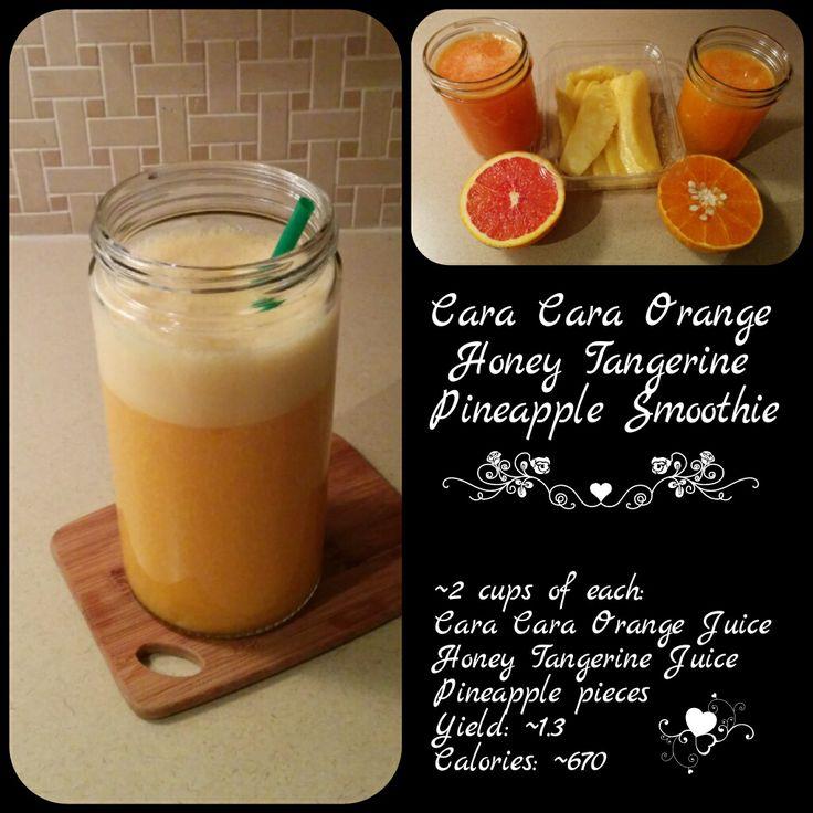 Cara Cara Orange, Honey Tangerine, Pineapple