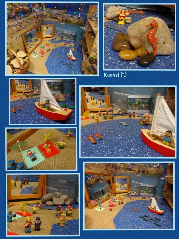 "Small world beach play from Rachel ("",)"