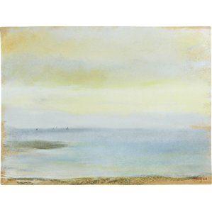 Marine Sunset by Degas Canvas Print