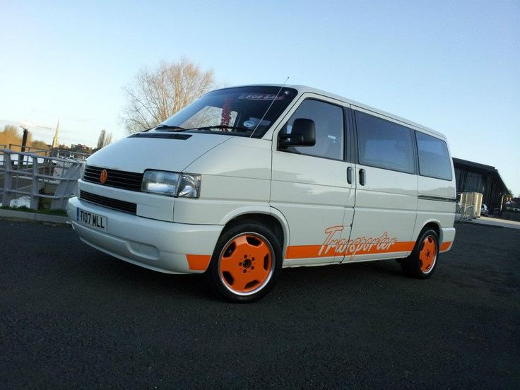 white & orange themed vans please - VW T4 Forum - VW T5 Forum