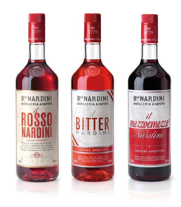 Aperitivi Nardini: Rosso, Bitter e Mezzo