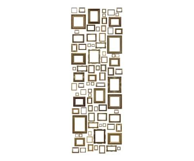 Sticker vinyle LINA, brun - 250*90