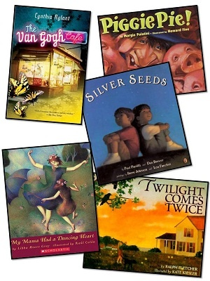 Books for Visualizing and all of the other comprehension strategies