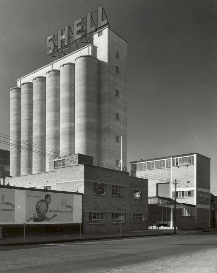 Silos, Joe White Maltings Ltd., Victoria Parade, Collingwood