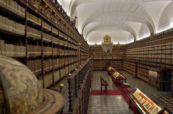 Biblioteca de Santa Cruz. Universidad de Valladolid.