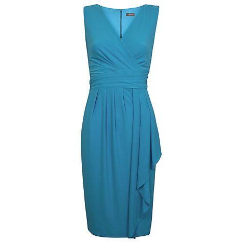 Buy Alexon Jersey Dress, Turquoise Online at johnlewis.com