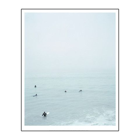 """LACMA Store - Catherine Opie: 'Untitled #4' (Surfers) 16 x 20"""" Print"""