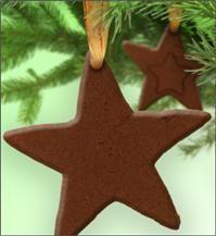 Cinnamon & Apple Sauce Ornament/ Gift Tag