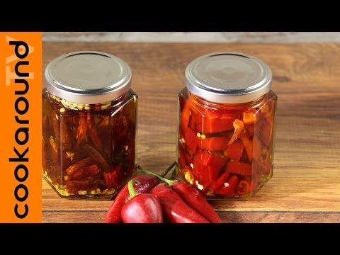 Olio santo piccante: come prepararlo / Ricetta - YouTube
