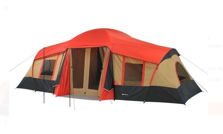 Ozark Trail 10 Person 3 Room Camping Vacation Tent | Big Large Outdoor Cabin #OzarkTrail