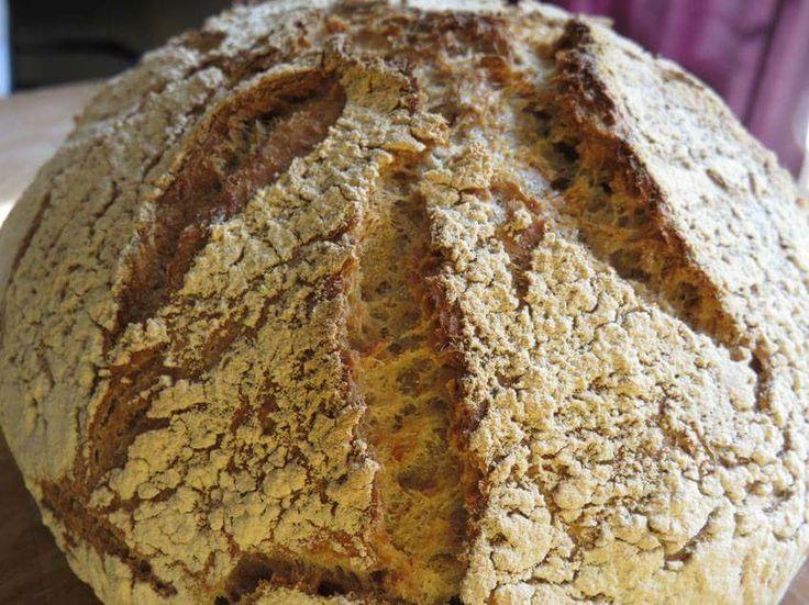 No knead pot baked bread