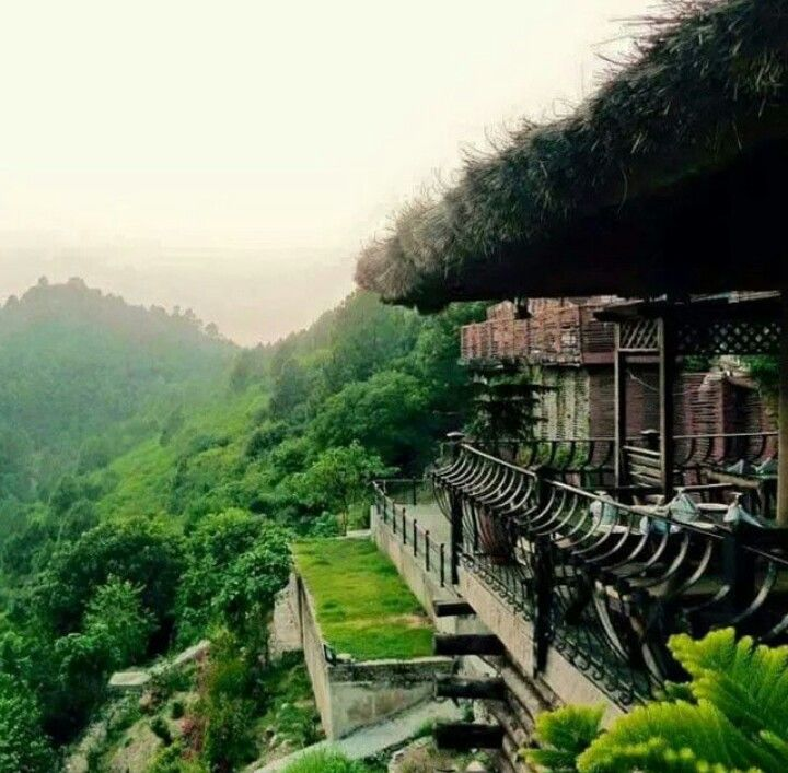 Monal, Islamabad. A restaurant nestled in the hills surrounding Pakistan's capital.